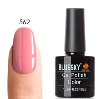 Bluesky/Блюскай 80562 Blush Teddy гель-лак, 10 мл