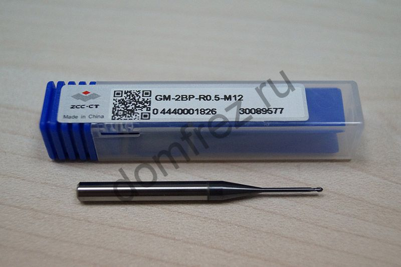 Фреза GM-2BP-R0.5-M12