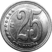 Венесуэла 25 сентимо 2007 г.