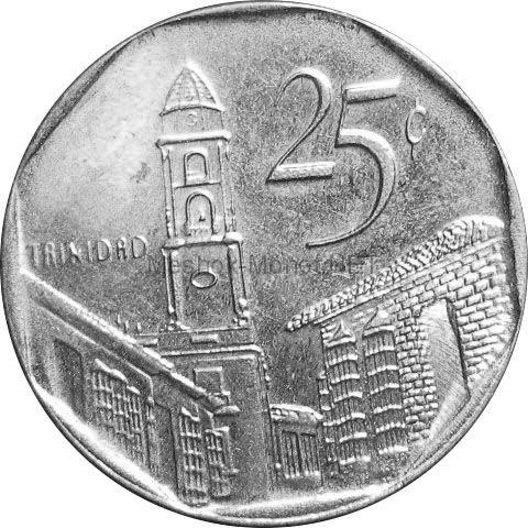 Куба 25 сентаво 2002 г.