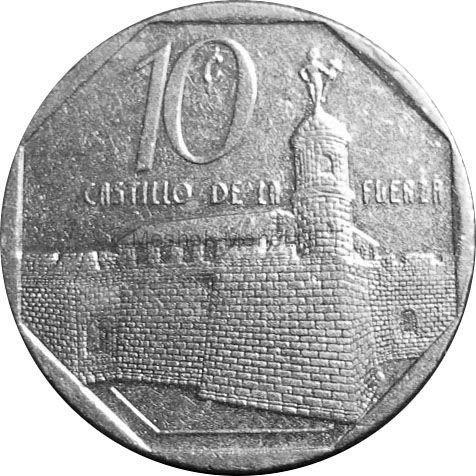 Куба 10 сентаво 2000 г.