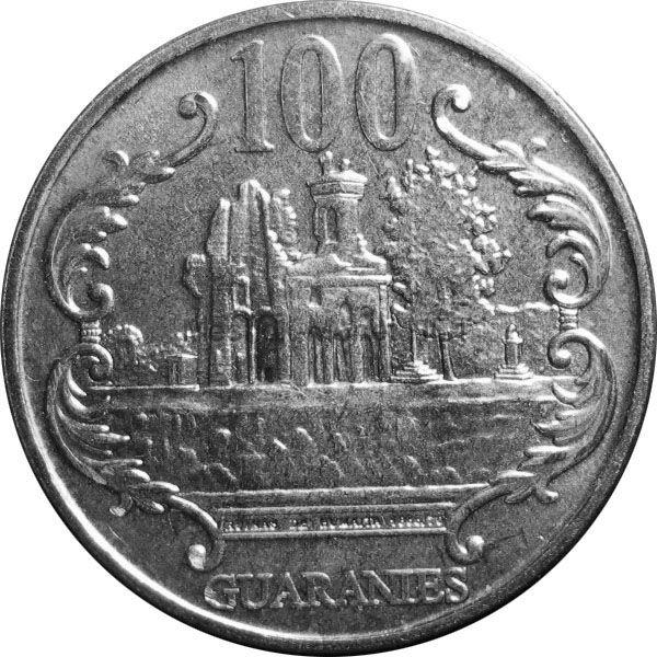 Парагвай 100 гуарани 2007 г.