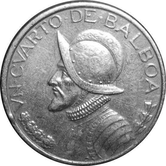 Панама 1/4 бальбоа 2008 г.