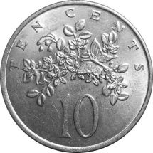Ямайка 10 центов 1972 г.