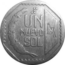 Перу 1 соль 2009 г.