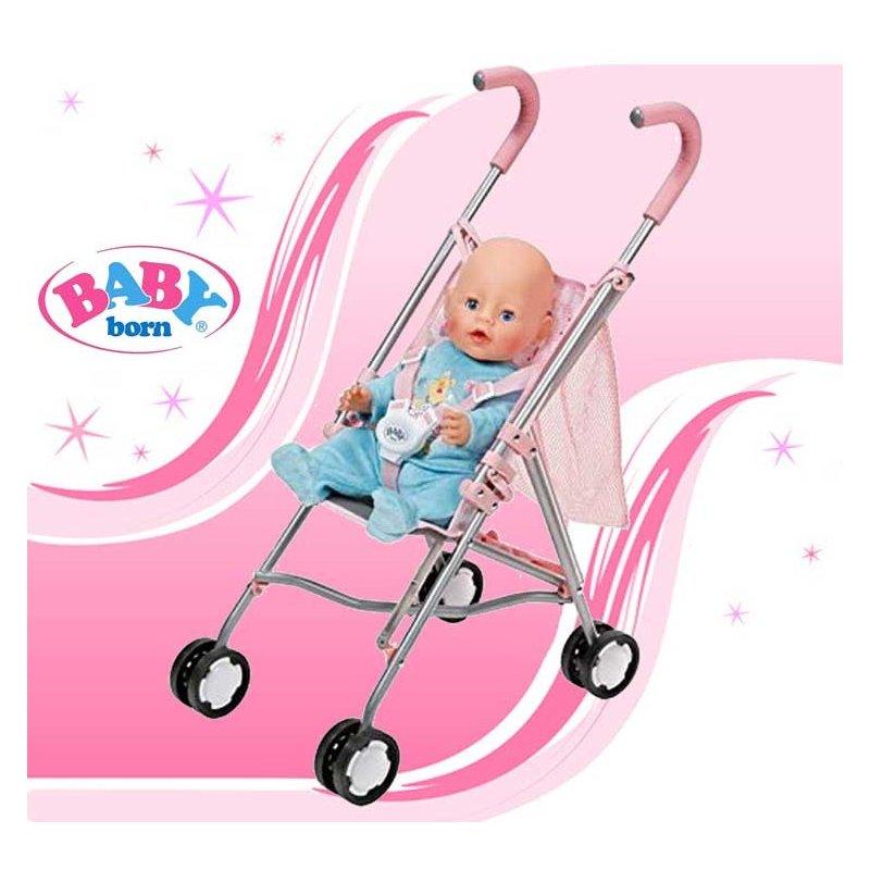 Коляска трость для куклы Baby Born 822319