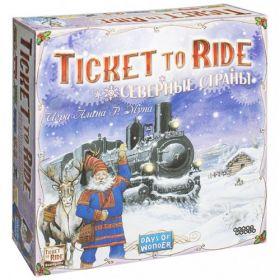 Игра Билет на поезд Северные страны (Ticket to Ride)