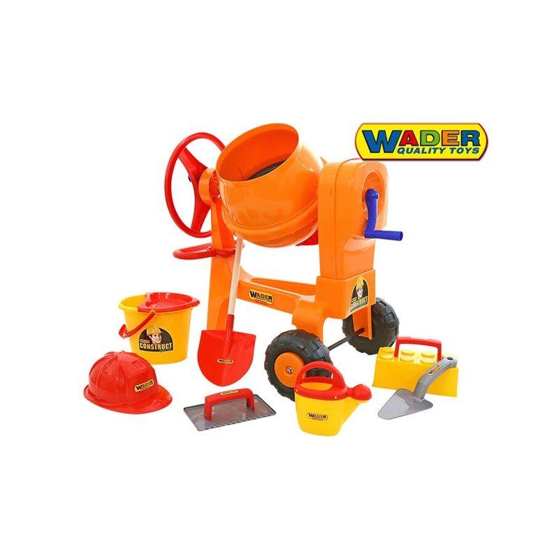 Бетономешалка + набор каменщика 50649 wader