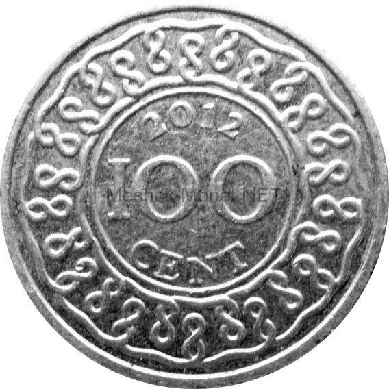 Суринам 100 центов 2012 г.