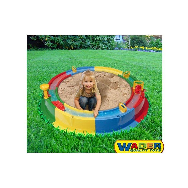 Песочница кольцо с водой wader 40923