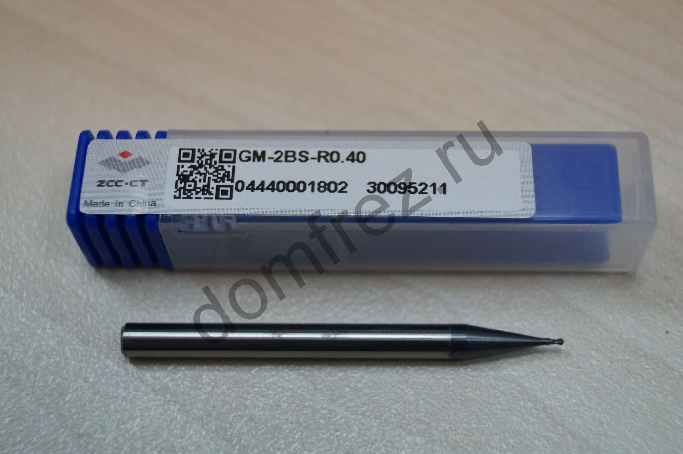Фреза GM-2BS-R0.4