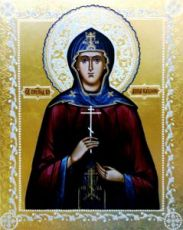 Анна Кашинская (икона на дереве)