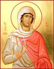 Виктория Кордувийская (икона на дереве)