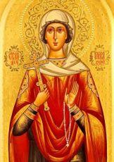Икона Виктория Кулузская