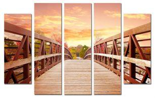 Мост в закат