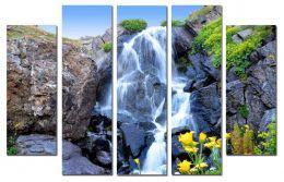 Горный водопад 2