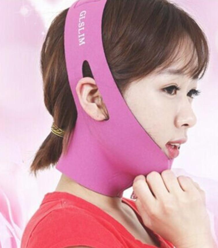 Маска бандаж для подтяжки и коррекции овала лица с сильным 3D лифтинг эффектом