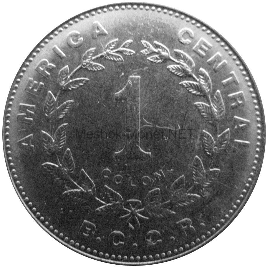 Коста-Рика 1 колон 1989 г.