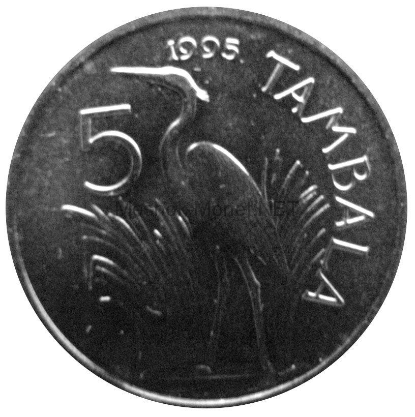 Малави 5 тамбала 1995 г.