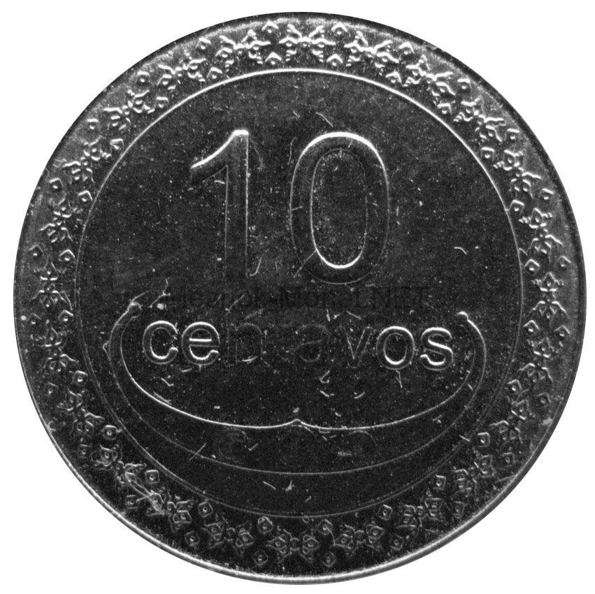 Тимор 10 сентаво 2004 г.