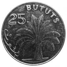 Гамбия 25 бутут 2014 г.