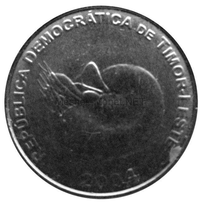 Тимор 1 сентаво 2004 г.