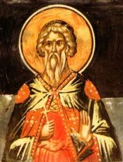 Аглаий Севастийский  (рукописная икона)