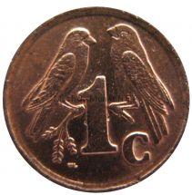 ЮАР 1 цент 1990 г.