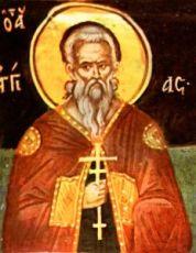 Ангий Севастийский  (рукописная икона)
