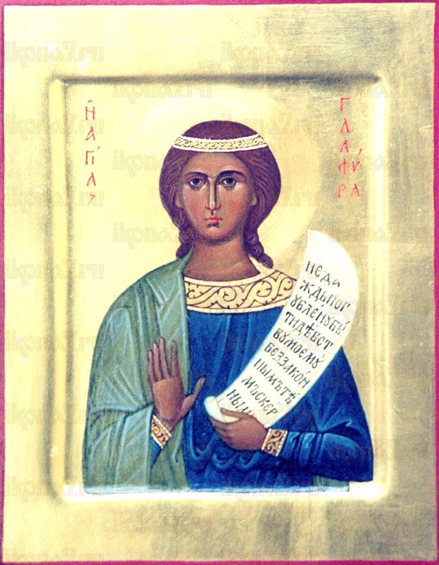 Глафира Амасийская (икона на дереве)