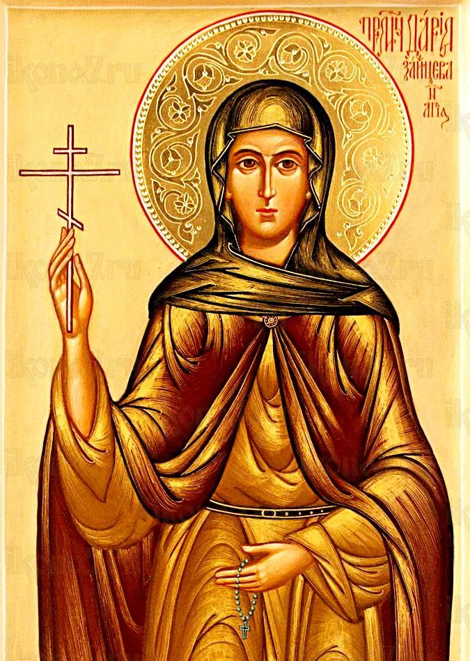 Дарья Зайцева (икона на дереве)