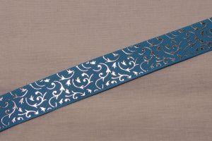 Лента репсовая с рисунком, ширина 22 мм, длина 10 метров, Арт. ЛР5653-5