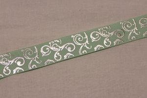 `Лента репсовая с рисунком, ширина 22 мм, Арт. Р-ЛР5654-5