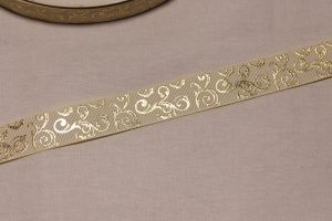 `Лента репсовая с рисунком, ширина 22 мм, Арт. Р-ЛР5655-2