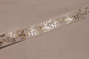 `Лента репсовая с рисунком, ширина 22 мм, Арт. Р-ЛР5655-10