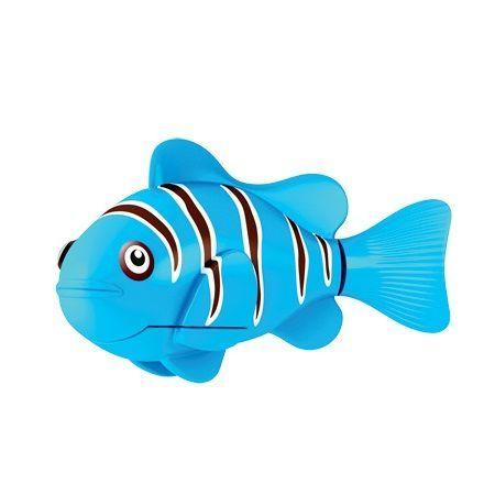 Роборыбка (Robo Fish) Клоун Интерактивная Игрушка, Цвет Синий