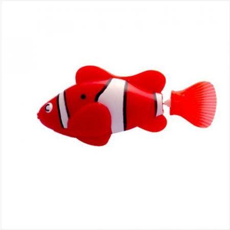 Роборыбка (Robo Fish) КЛОУН интерактивная игрушка, цвет красный