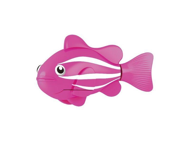 Роборыбка (Robo Fish) Клоун Интерактивная Игрушка, Цвет Розовый