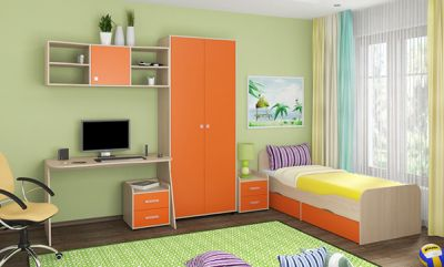 Детская комната Дельта - Композиция 10