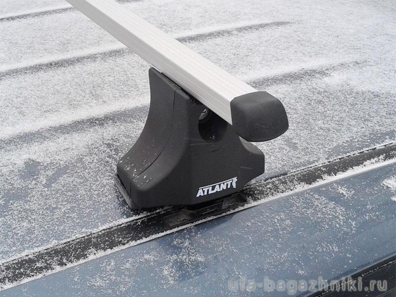 Багажник на крышу на Suzuki Liana universal (Атлант, Россия), прямоугольные дуги