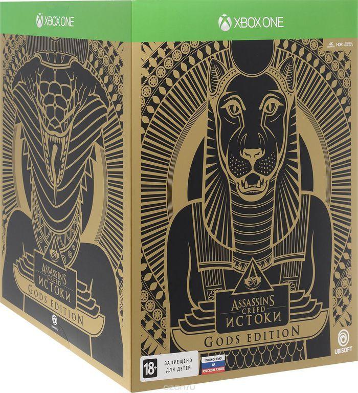 Игра Assassin's Creed Истоки Gods Edition (Xbox One, русская версия) Origins