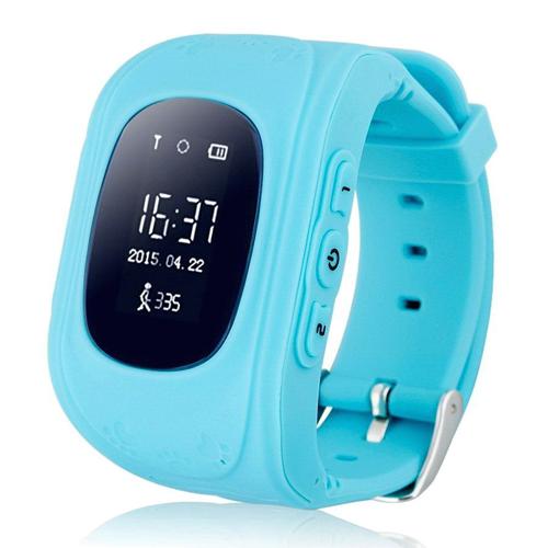 Умные Детские Часы С GPS Smart Baby Watch Q50, Цвет Голубой