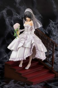 Фигурка Date A Live - Tokisaki Kurumi Wedding Ver. Pink