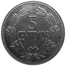 Венесуэла 5 сентимо 1965 г.