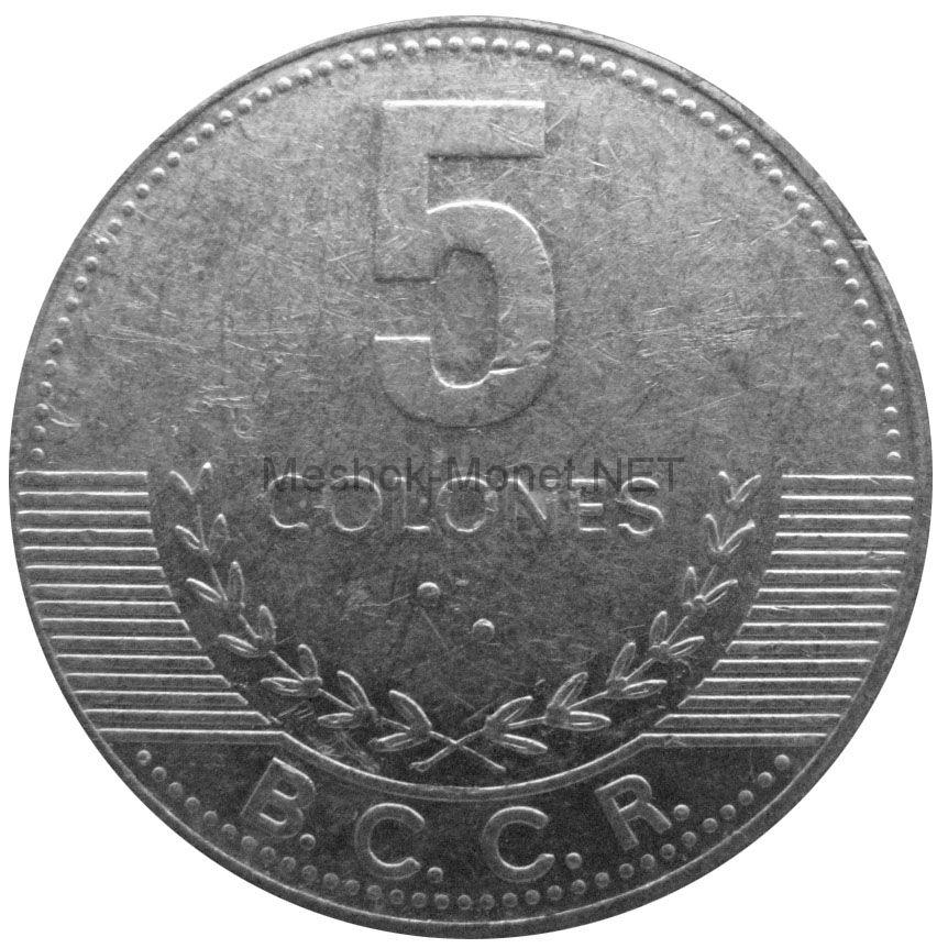 Коста-Рика 5 колон 2008 г.