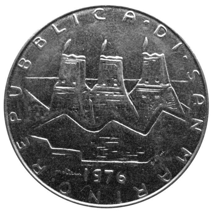 Сан-Марино 100 лир 1976 г.