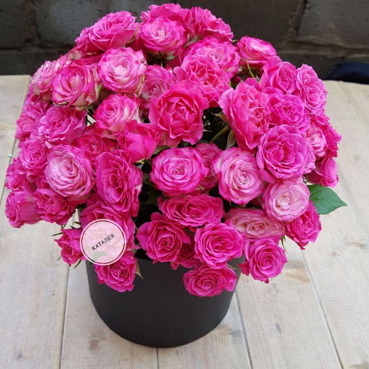 Коробочка кустовых роз
