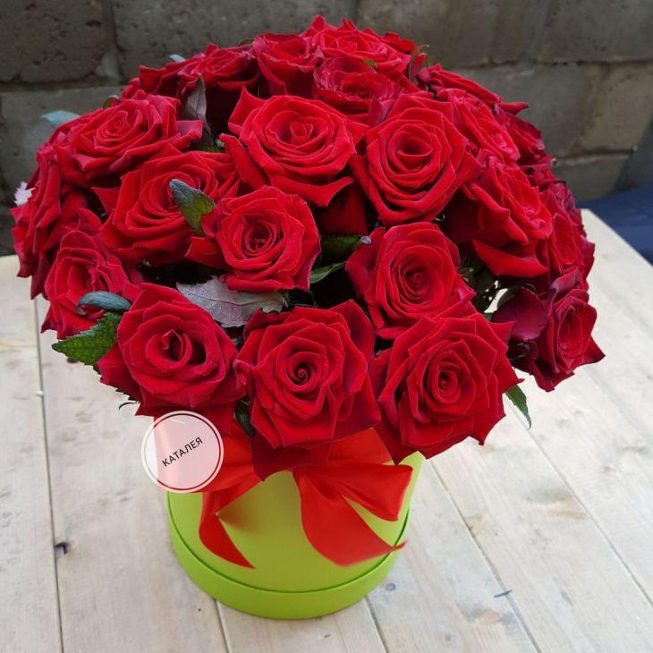 Коробочка 35 роз