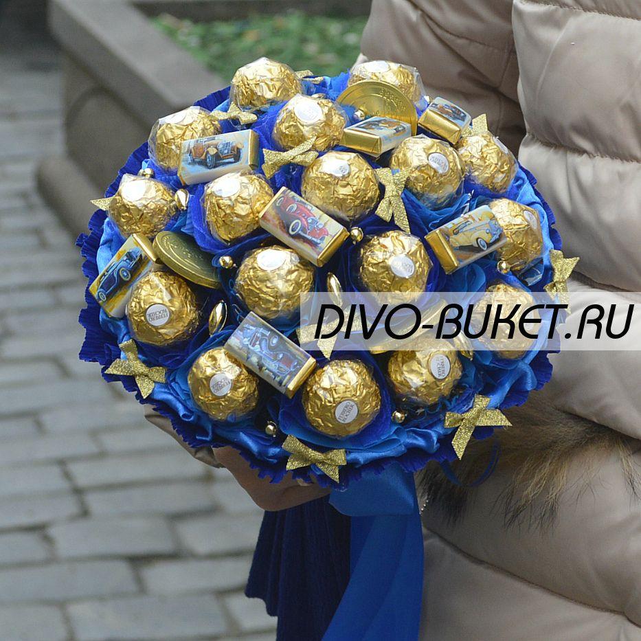 букеты из конфет фото для мужчин