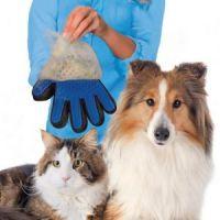 Перчатка для вычёсывания  шерсти True Touch_1